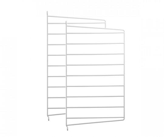 String Gavl 2-pack - Væghængt 50x30 hvid