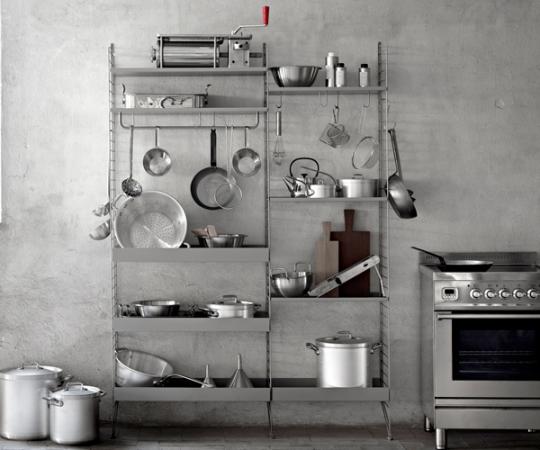String System - Køkken 01 - Grå