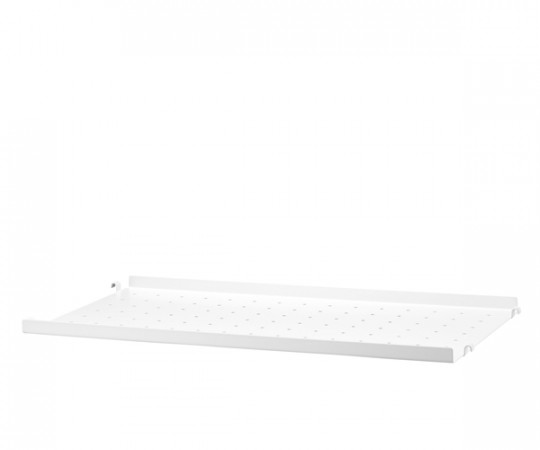 String Metalhylde Lav Kant 78x30cm - Hvid