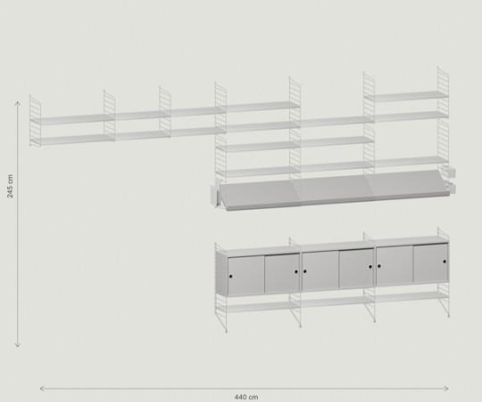 String Reol - shelf id: V35048849