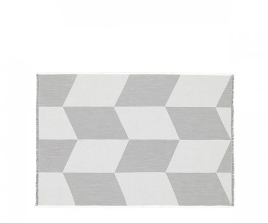 Muuto Sway Plaid - Black-White