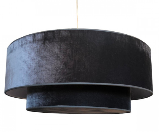 velour loftlampe - 80 cm