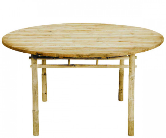 tine k home bambus spisebord rundt