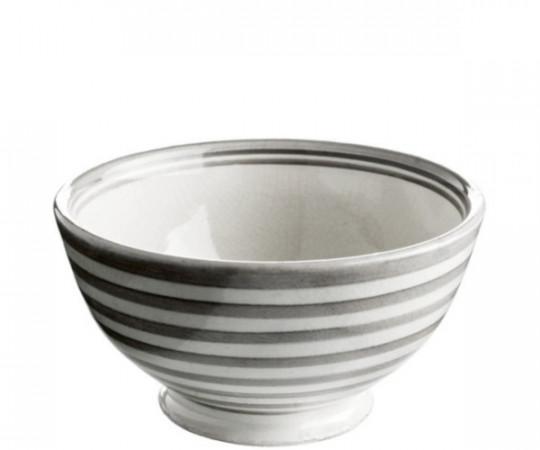 tine k marokkansk skål grå striber