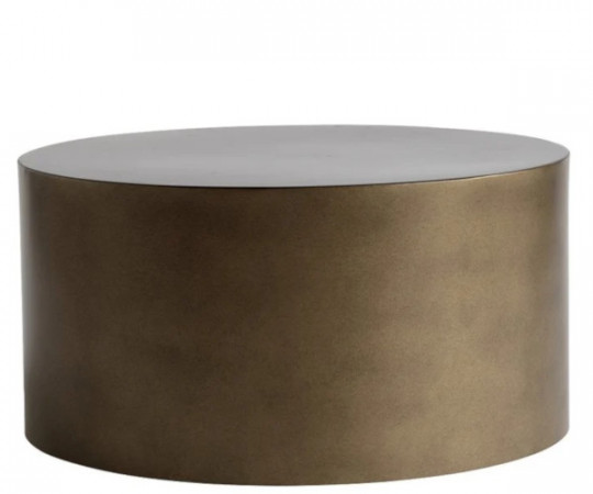 tine k home honey gold metal bord 60x30
