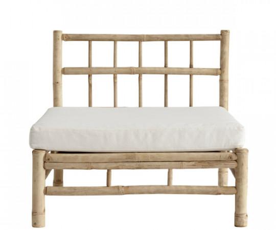 tine k home bambus lounge modul hvid hynde