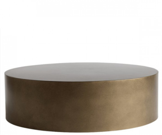 tine k home honey gold metal bord 85x25