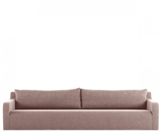 tine k home sofa soft velour rose