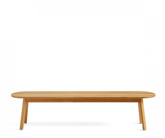 Hay Triangle Bench - 150cm - Klar Lak