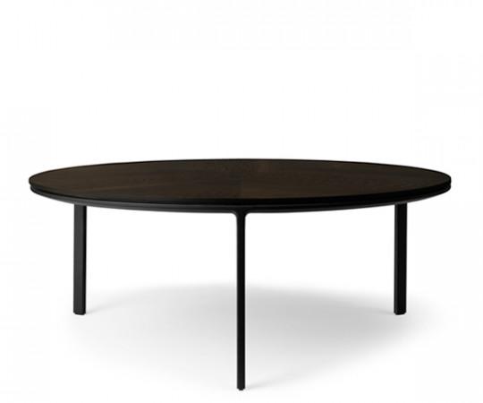 Vipp 425 Sofabord Ø90 - Mørk Eg