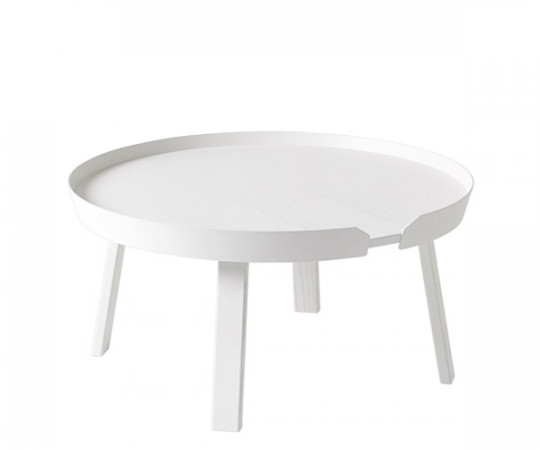Muuto Around Coffee Table - Stor - Hvid