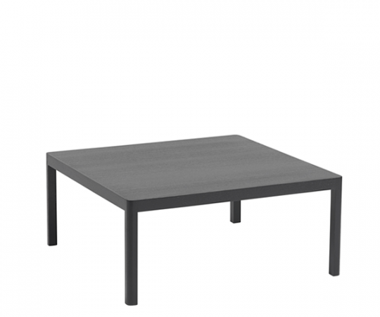 Muuto Workshop Coffee Table - Black Oak - 86x86 cm.