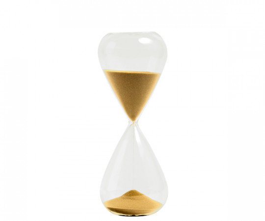 HAY Time XL Gold - Timeglas 45 Min.