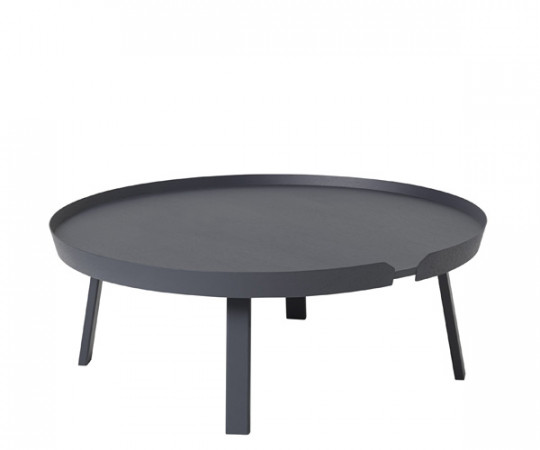Muuto Around Coffee Table - X-Large - Anthracite