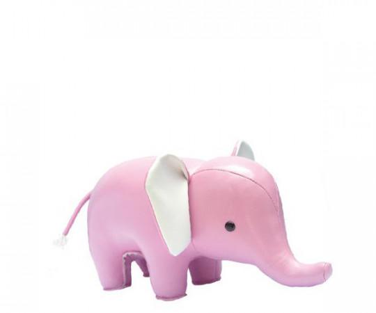 zuny baby elefant lyserød