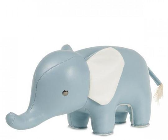 zuny elefant lyseblå