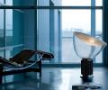 Flos Taccia Bordlampe M./ Glasskærm
