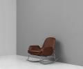 Normann Copenhagen - Era Lounge Chair High Steel - Breeze Fusion