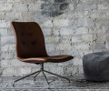 Bent Hansen Primum Lounge Stol - Cognac Zenso Læder