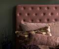 cozy living velour sengegavl