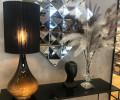 flavia renata lampe med lys i foden