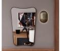 Gubi FA 33 spejl Rectangular Wall Mirror 80x54cm spejl