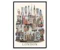 Martin Schwartz London 50x70cm Poster