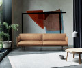 Muuto Outline sofa cognac læder