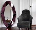 Reflections by Hugau Larsson Diamond Spejl