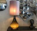 renata flavia lampe grå velour
