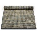rug solid jute graphite