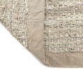 rug solid beige læder