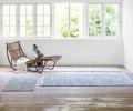 rug solid limestone lædertæppe