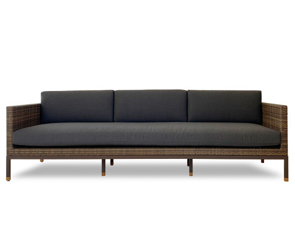 Royal Teak Sistema 35 Personer Sofa – Lava Brown