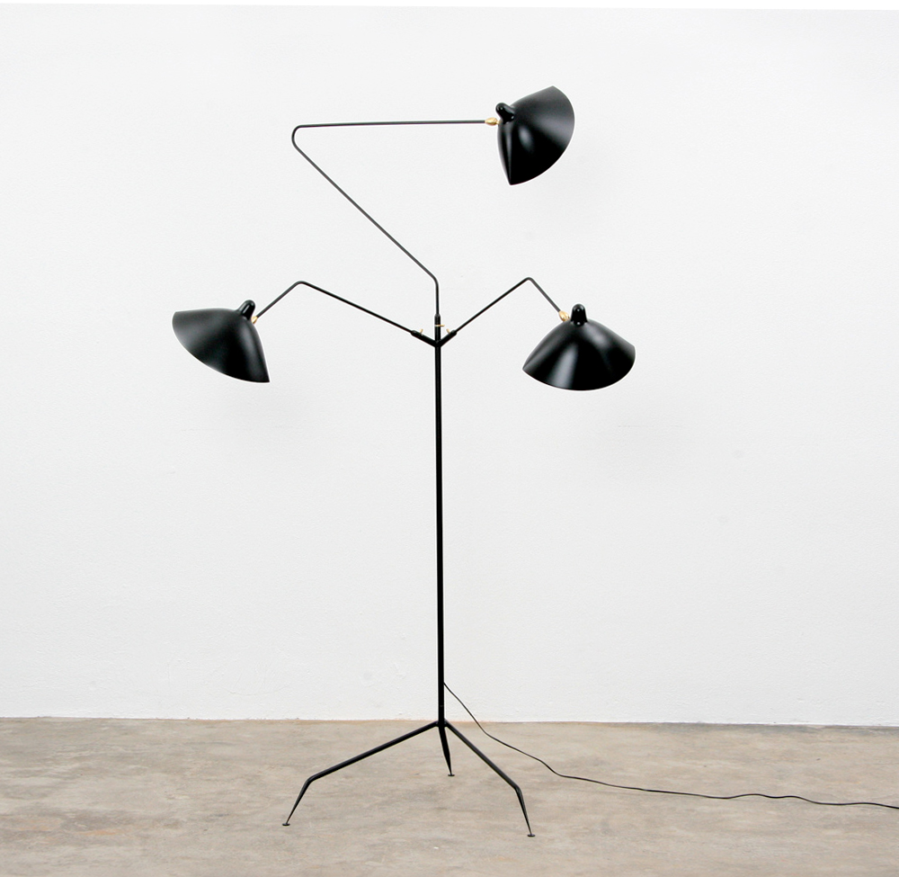 Serge Mouille gulvlampe